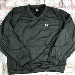 Under Armour V-Neck Pullover Jacket, Like New